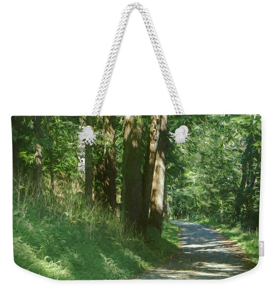 Little Lehigh Parkway Path Weekender Tote Bag