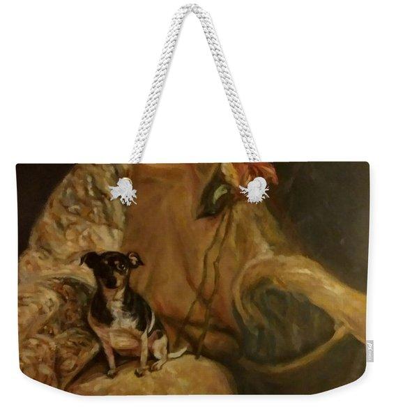 Little Miss Margo Weekender Tote Bag