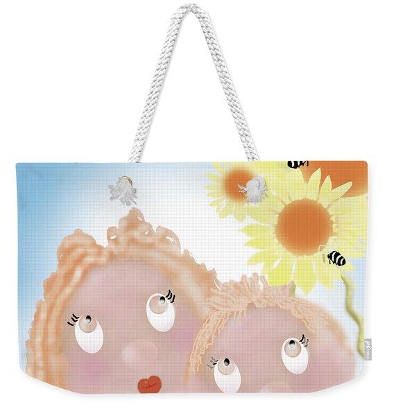 Little Ms And Bro Weekender Tote Bag