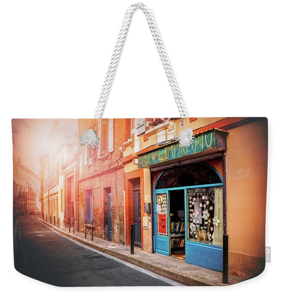 Little Music Shop Toulouse France  Weekender Tote Bag