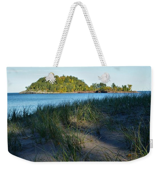 Little Presque Isle Island Weekender Tote Bag