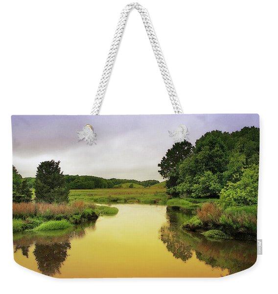 Little River Twilight Weekender Tote Bag