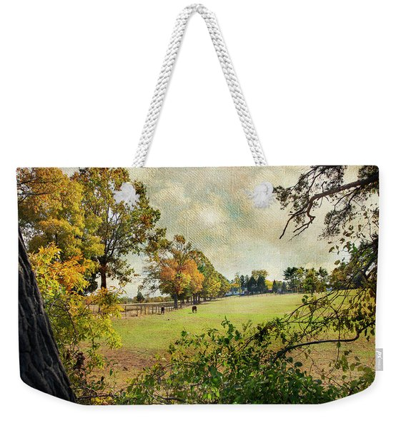 Little Timber Ranch Berlin New Jersey Weekender Tote Bag