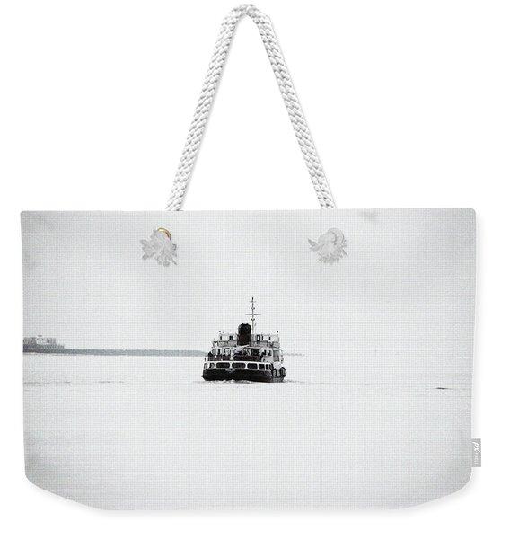 Liverpool. The Mersey Ferry 'royal Iris' Weekender Tote Bag