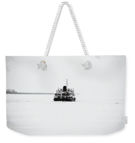 Liverpool. The Mersey Ferry 'royal Iris' Weekender Tote Bag
