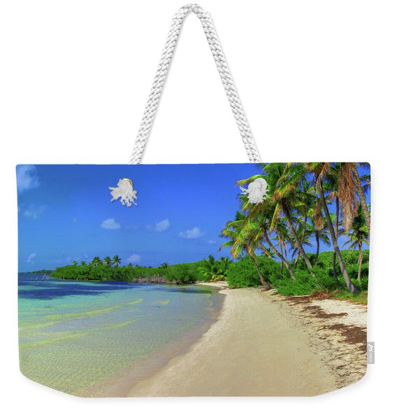 Living On An Island Weekender Tote Bag