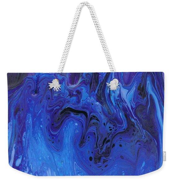 Living Water Abstract Weekender Tote Bag