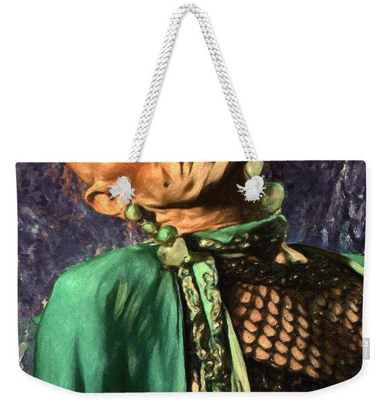 Liz Taylor Weekender Tote Bag