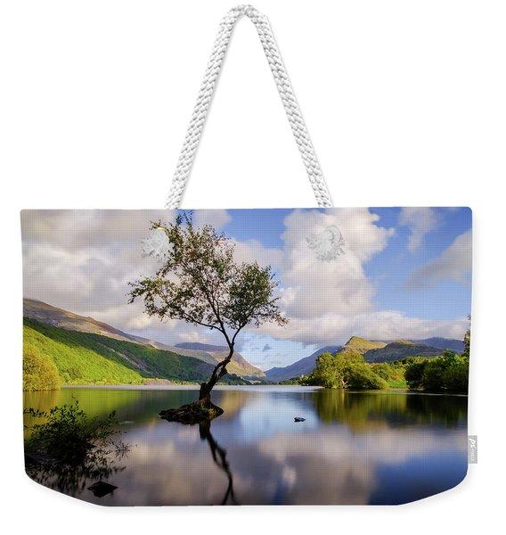 Llyn Padarn, Snowdonia Weekender Tote Bag