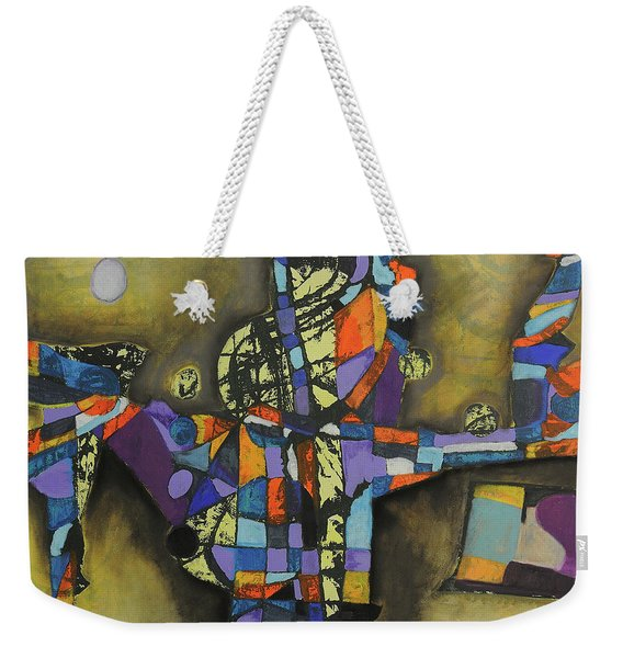 Local Resonance Weekender Tote Bag