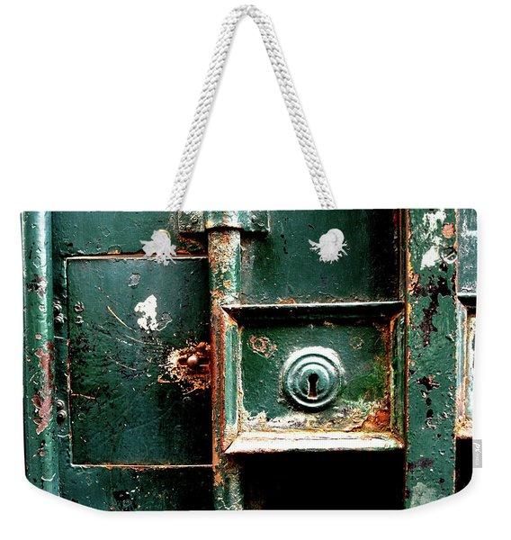 Lock Weekender Tote Bag