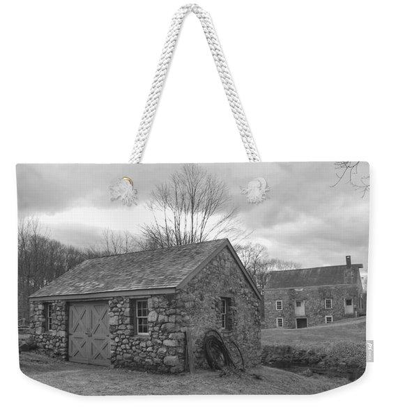 Lock House And Store - Waterloo Village Weekender Tote Bag
