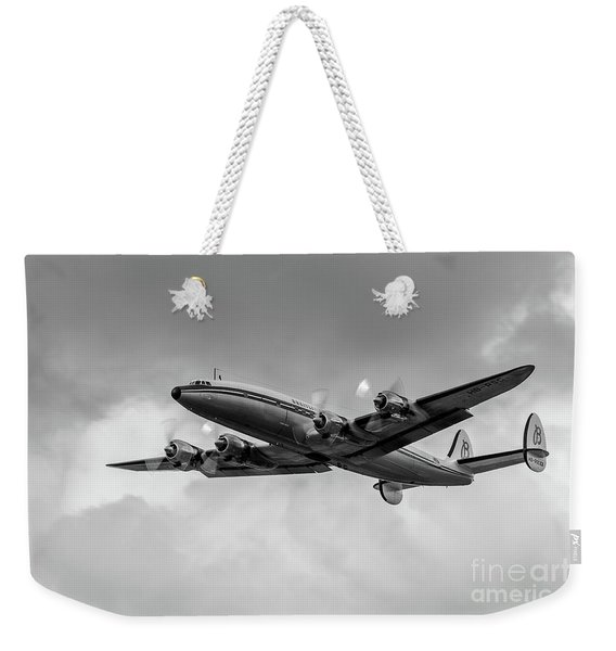 Lockheed Breitling Super Constellation  Weekender Tote Bag