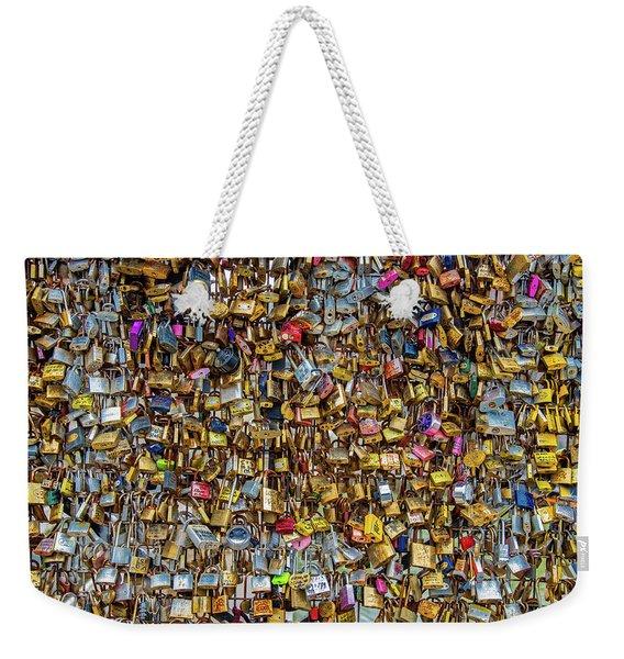 Locks Of Love For Paris Weekender Tote Bag