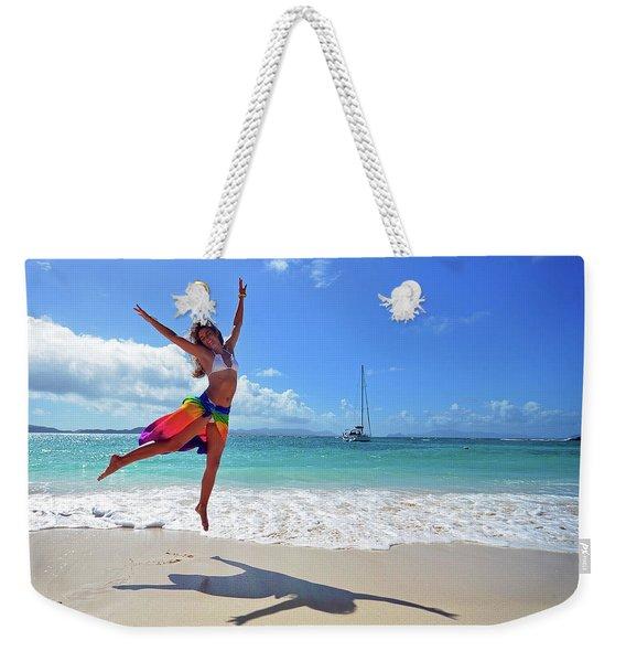 Lollick Frolic Weekender Tote Bag