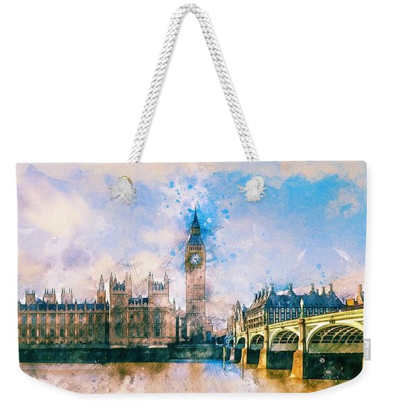 London, Big Ben Weekender Tote Bag