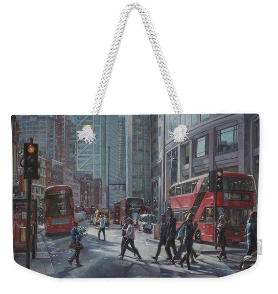 London Bishopsgate Weekender Tote Bag