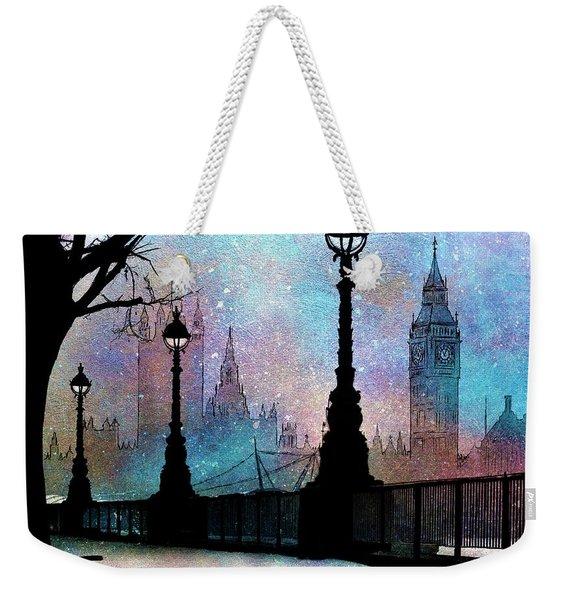 London Night Weekender Tote Bag