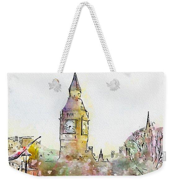 London Street 4 Weekender Tote Bag