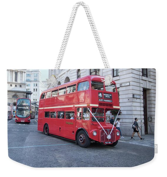 London Wedding Weekender Tote Bag