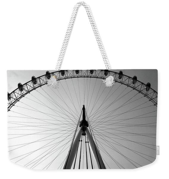 London_eye_i Weekender Tote Bag