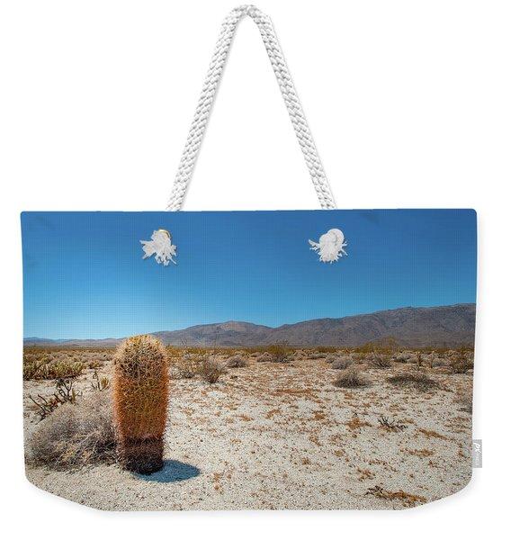 Lone Barrel Cactus Weekender Tote Bag