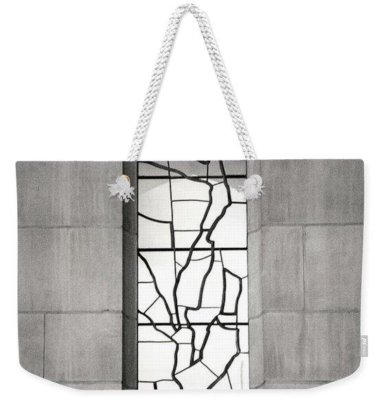 Lone Cathedral Window Weekender Tote Bag