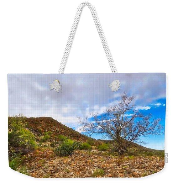 Lone Palo Verde Weekender Tote Bag