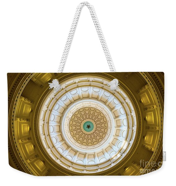 Weekender Tote Bag featuring the photograph Lone Star by Dheeraj Mutha