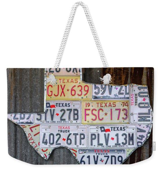 Lone Star Weekender Tote Bag