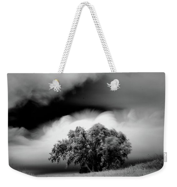 Lone Tree On A Hill Weekender Tote Bag
