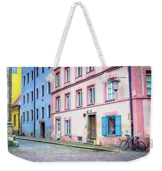 Lonely Bicycle Weekender Tote Bag