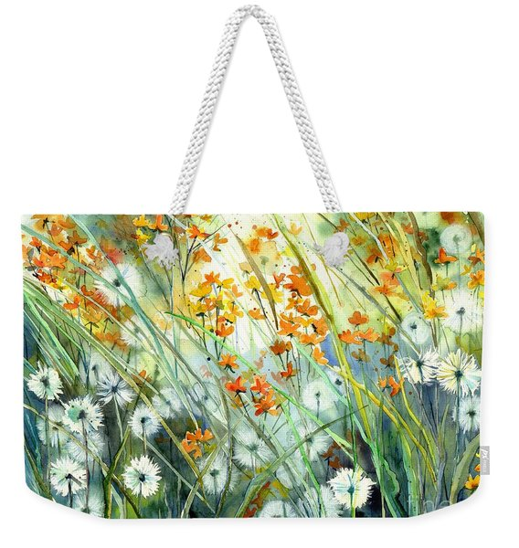 Lonely End Of The Summer Weekender Tote Bag