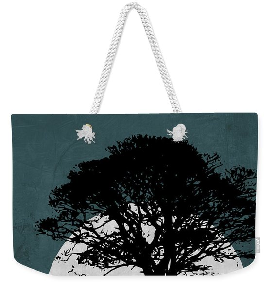 Lonely Tree In Safari Weekender Tote Bag