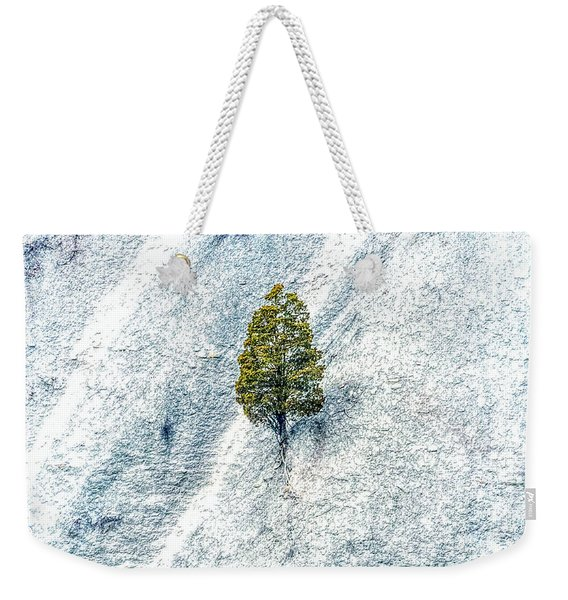 Lonely Tree Weekender Tote Bag