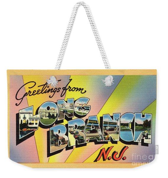 Long Branch Greetings Weekender Tote Bag