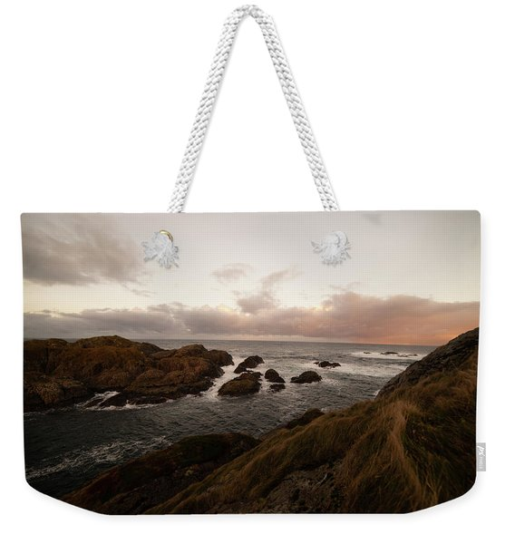 Long Exposure Arctic Weekender Tote Bag