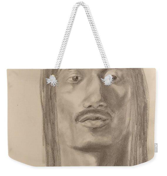 Long Hair Style Weekender Tote Bag