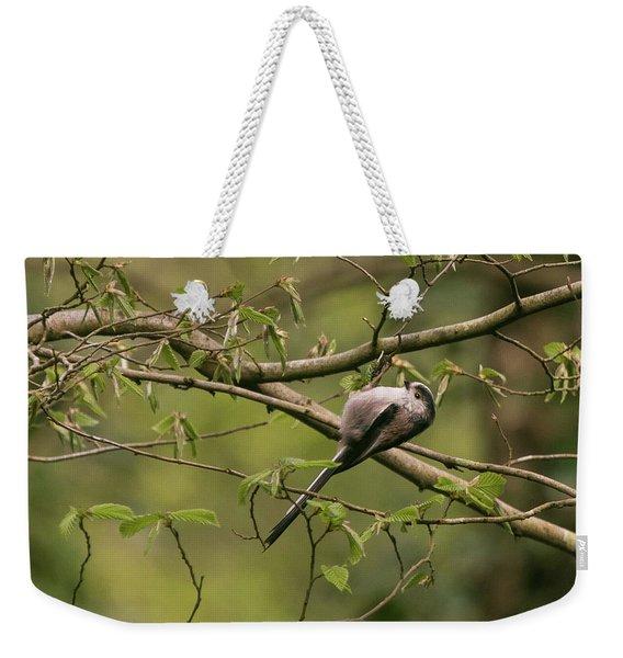 Long Tailed Tit Weekender Tote Bag
