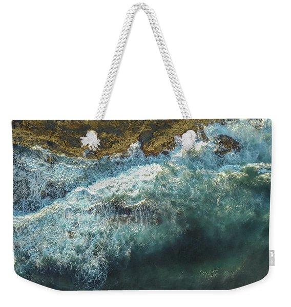 Longreef Waves Weekender Tote Bag
