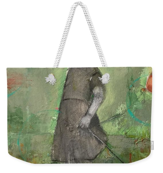 Look Around Weekender Tote Bag