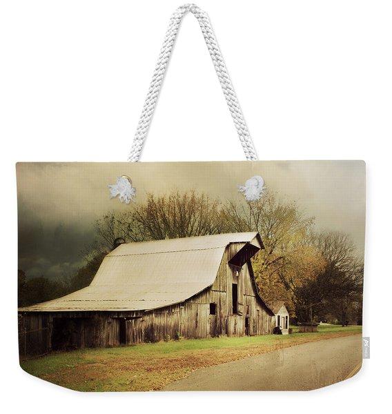 Look Both Ways Weekender Tote Bag