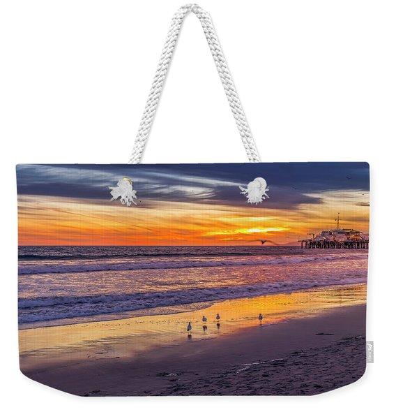 Look Out Below Weekender Tote Bag