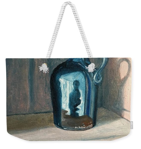 Looking Into The Cupboard Weekender Tote Bag
