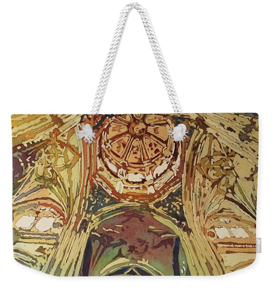 Looking Up Salamanca Cathedral Weekender Tote Bag