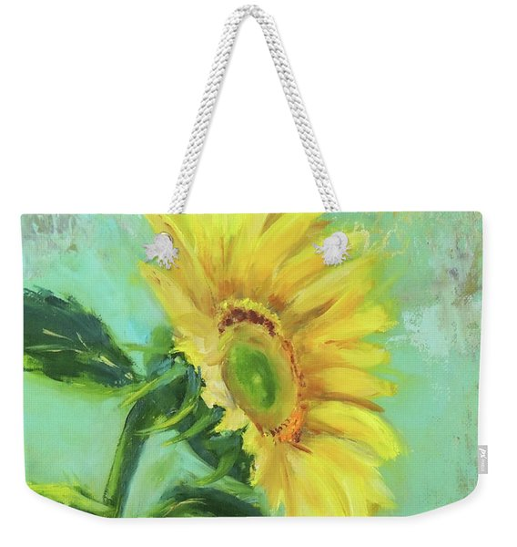 Loose Sunflower Weekender Tote Bag