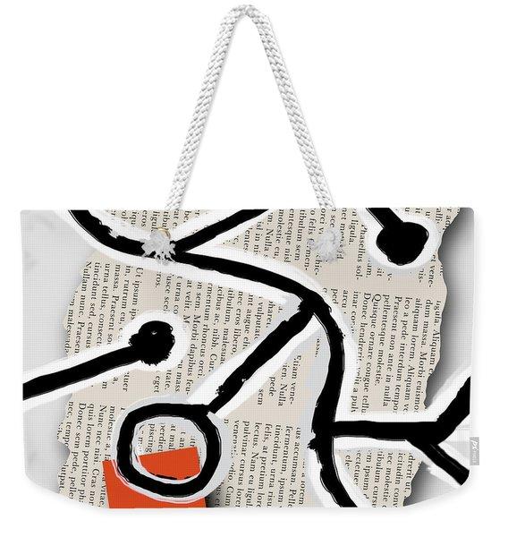Lorem Ipsum 1 Weekender Tote Bag