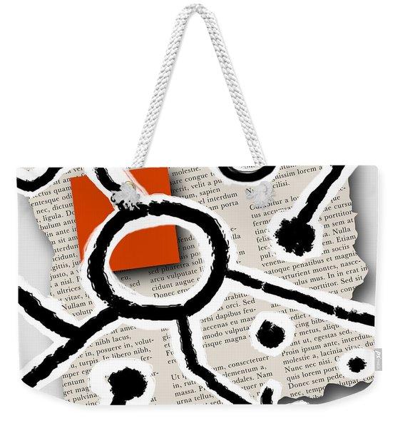 Lorem Ipsum 2 Weekender Tote Bag