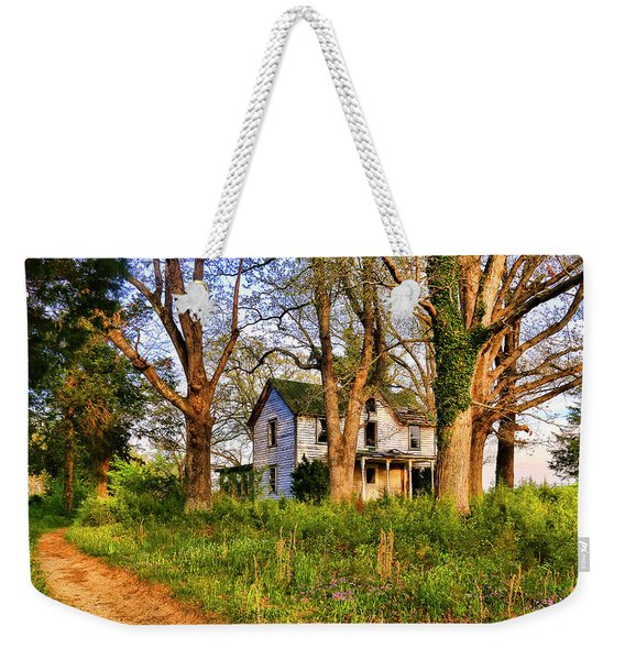 Lost And Abandoned  Weekender Tote Bag