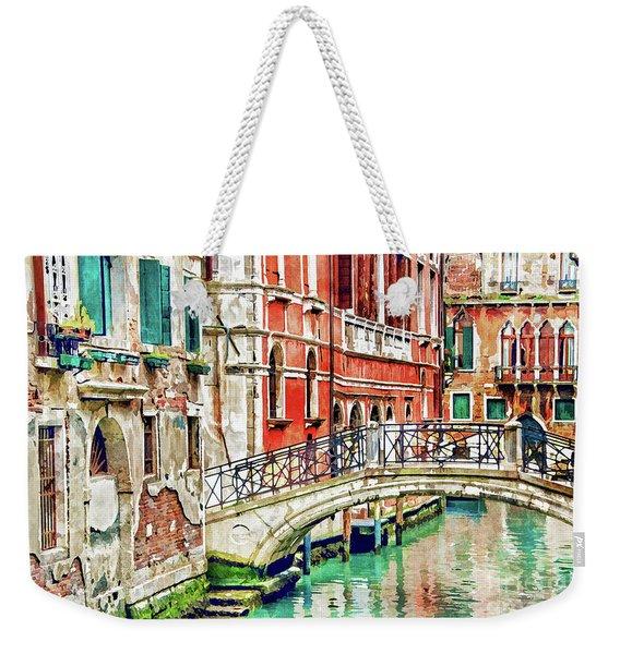 Lost In Venice Weekender Tote Bag